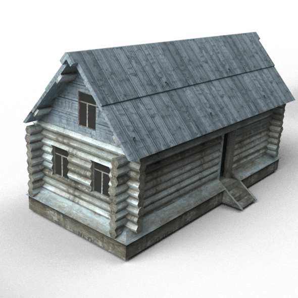 Wooden buildings