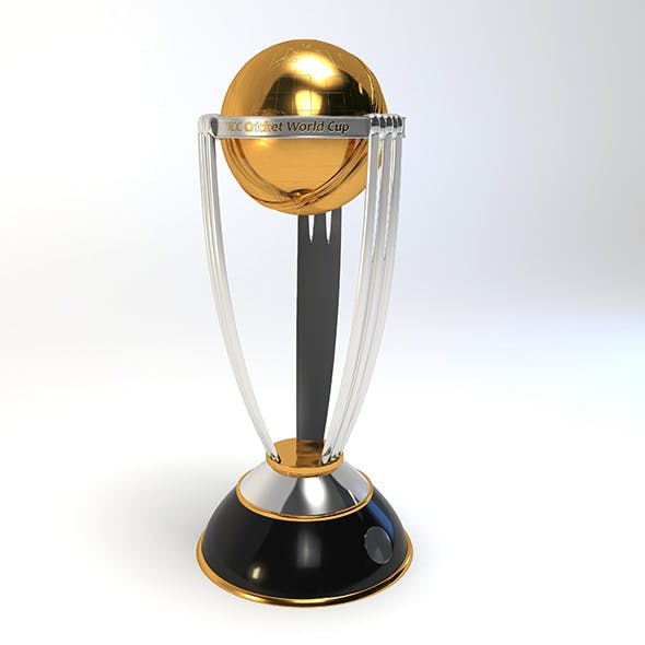 Cricket Trophy - 3DOcean Item for Sale