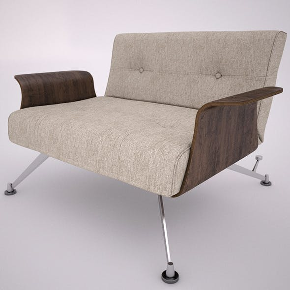 clubber chair - 3DOcean Item for Sale