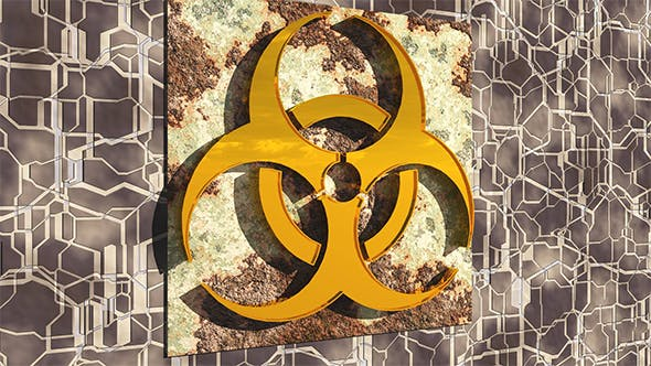 Biohazard Sign - 3DOcean Item for Sale