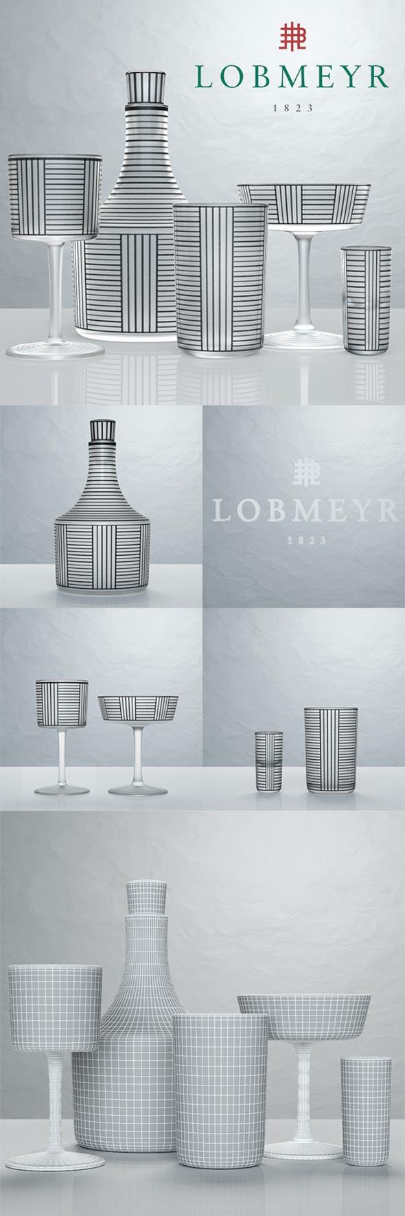 Hoffmann Bronzit by Lobmeyr - 3DOcean Item for Sale
