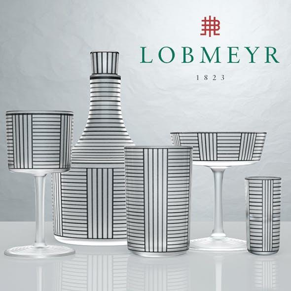Hoffmann Bronzit by Lobmeyr