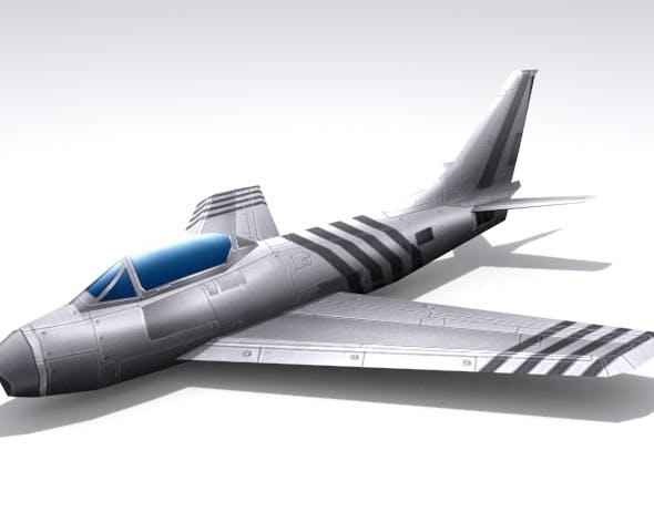 F-86 Saber - 3DOcean Item for Sale