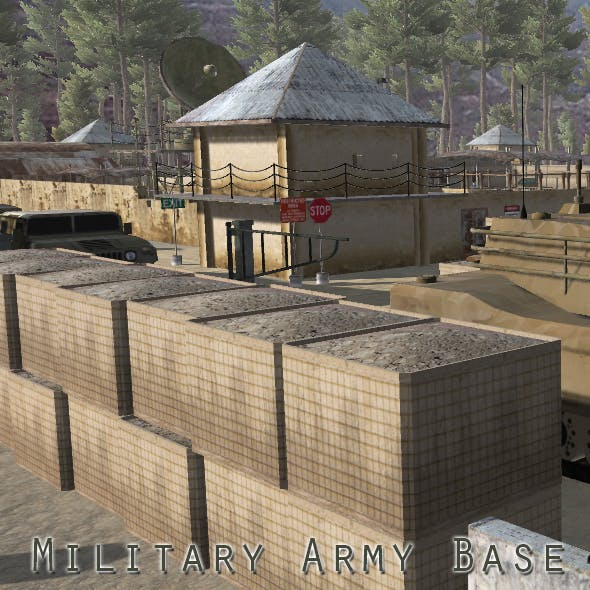 Military Army Base