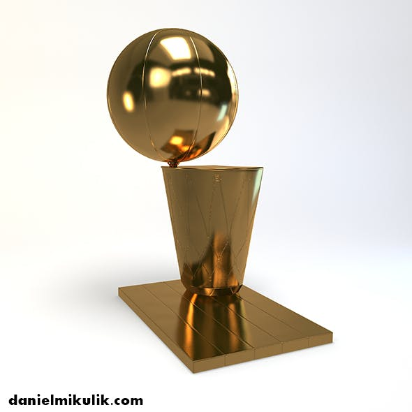 Basketball Trophy - 3DOcean Item for Sale