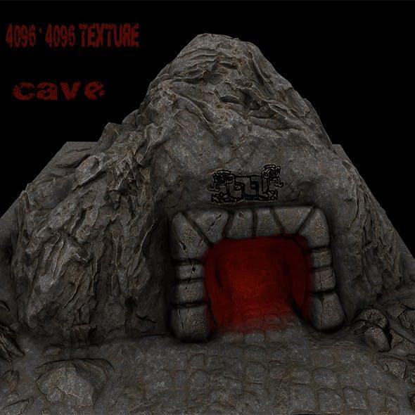 Cave_Enterance_3 - 3DOcean Item for Sale
