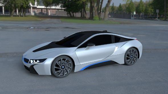 BMW i8 White HDRI - 3DOcean Item for Sale