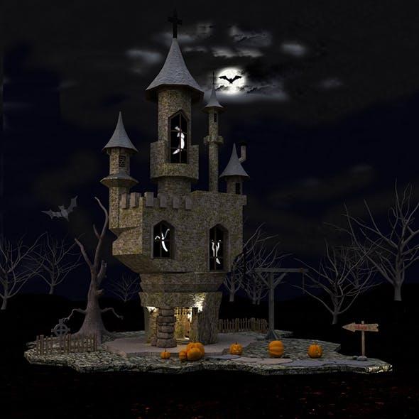 Old Castle - 3DOcean Item for Sale