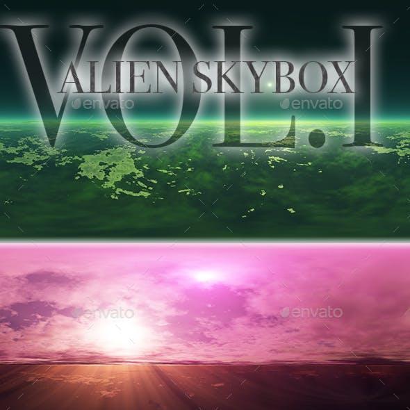 Alien Skybox Pack Vol.I