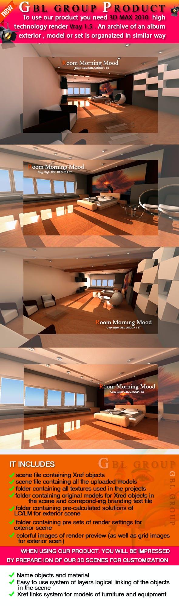 Room Morning Mood - 3DOcean Item for Sale