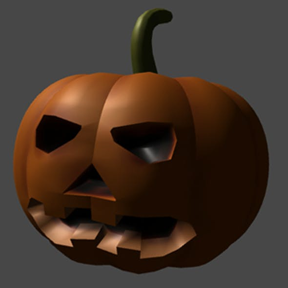 Halloween Pumpkin for Game