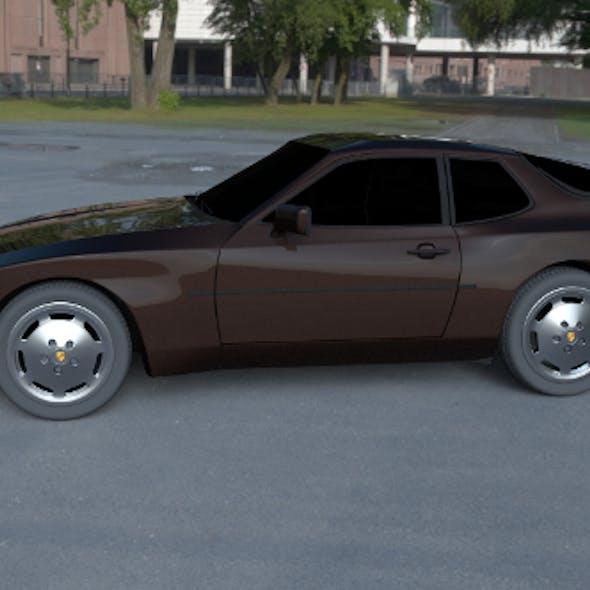 Porsche 944 S HDRI