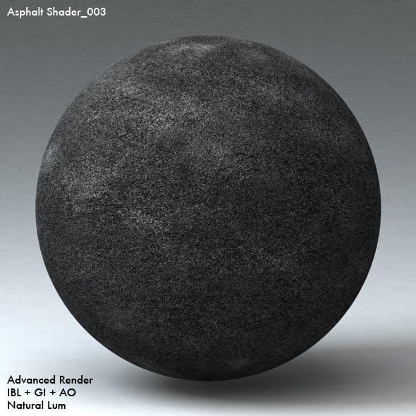 Asphalt Shader_003 - 3DOcean Item for Sale