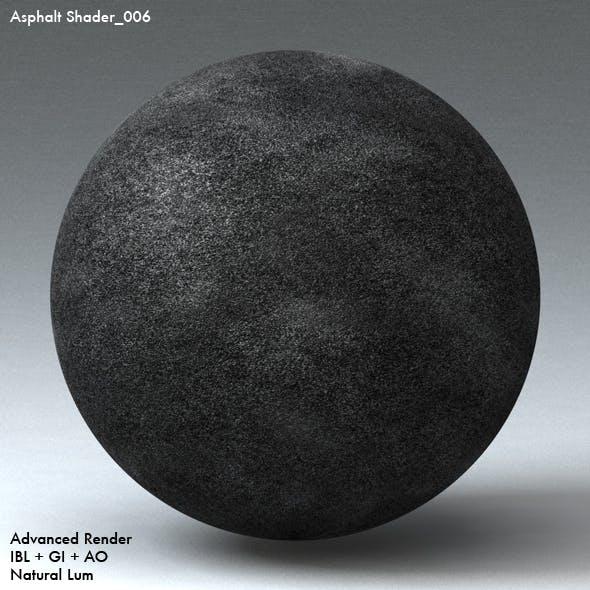 Asphalt Shader_006 - 3DOcean Item for Sale