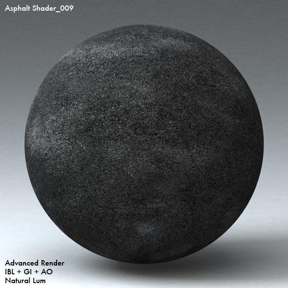 Asphalt Shader_009 - 3DOcean Item for Sale