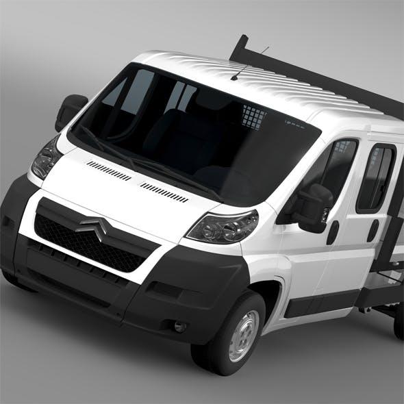 Citroen Relay Crew Cab Truck 2009-2014 - 3DOcean Item for Sale