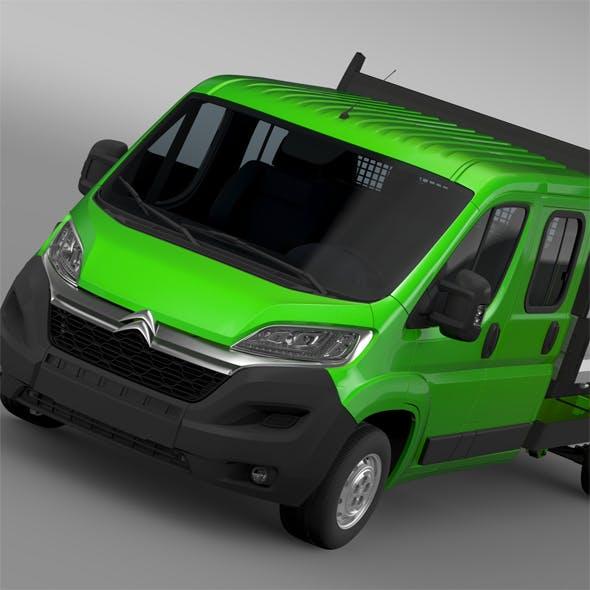 Citroen Relay Crew Cab Truck 2016 - 3DOcean Item for Sale