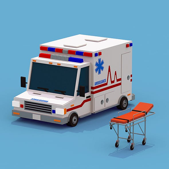 Ambulance with Stretcher