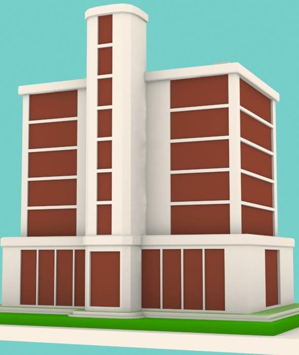 Building Model 02 - 3DOcean Item for Sale
