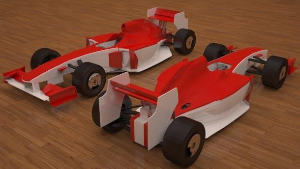 3D Ferrari F1 - 3DOcean Item for Sale