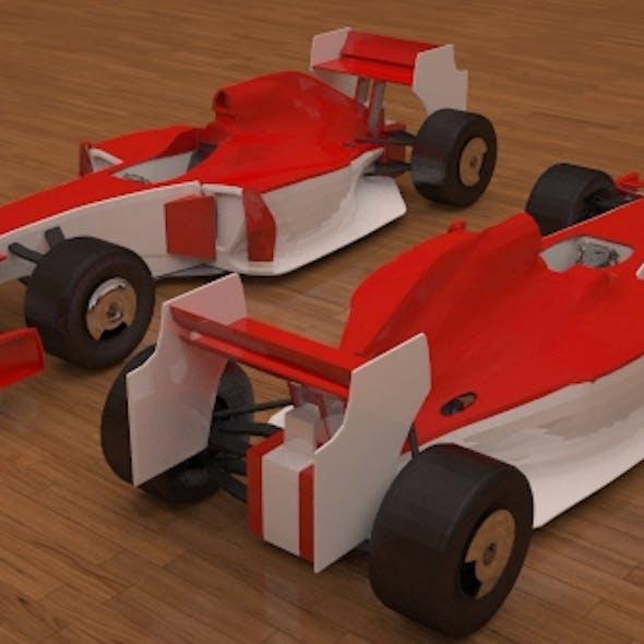 3D Ferrari F1