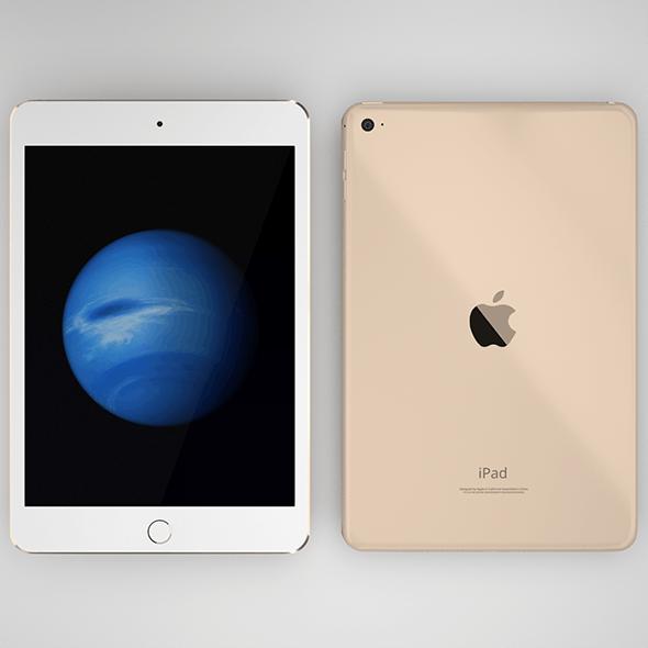 iPad Mini 4th generation in all three colors