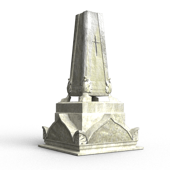 Tombstone - 3DOcean Item for Sale