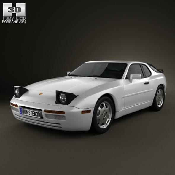 Porsche 944 coupe 1991 - 3DOcean Item for Sale