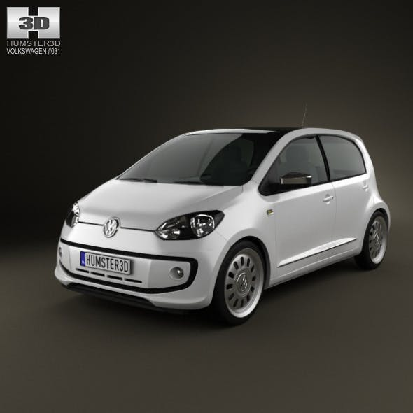 Volkswagen Up 5-door 2012 - 3DOcean Item for Sale