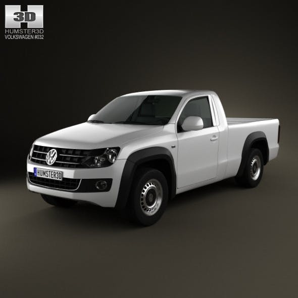 Volkswagen Amarok SingleCab 2010 - 3DOcean Item for Sale