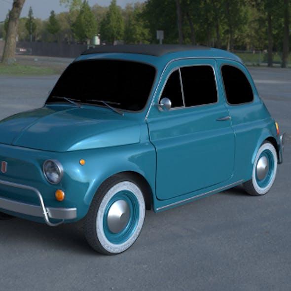 Fiat 500L Luxe 1968 HDRI
