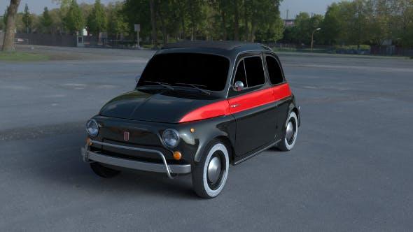 Fiat 500 Nuova Sport 1958 HDRI - 3DOcean Item for Sale
