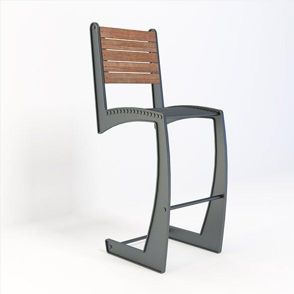 Retro Chair - 3DOcean Item for Sale