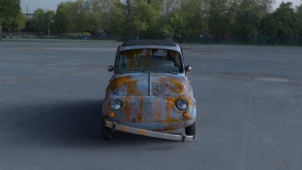 Fiat 500 Nuova 1957 with interior rusty HDRI - 3DOcean Item for Sale