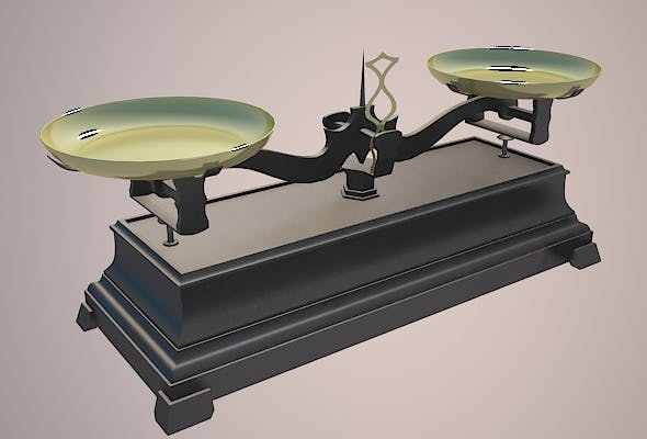 old balance  - 3DOcean Item for Sale