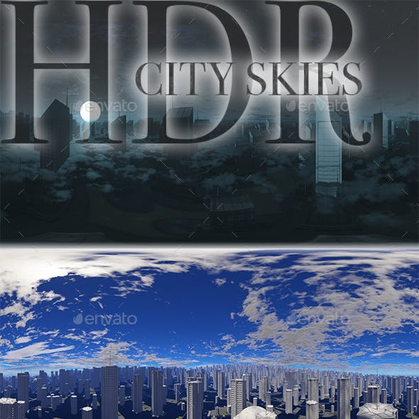 HDR City Skies