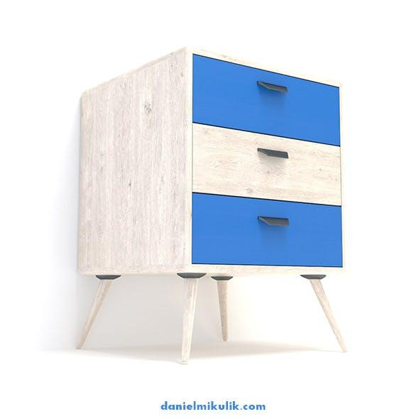 Retro Cupboard #11 - 3DOcean Item for Sale