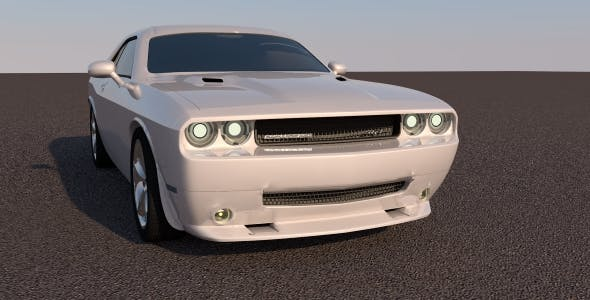Dodge Challenger 2011 - 3DOcean Item for Sale