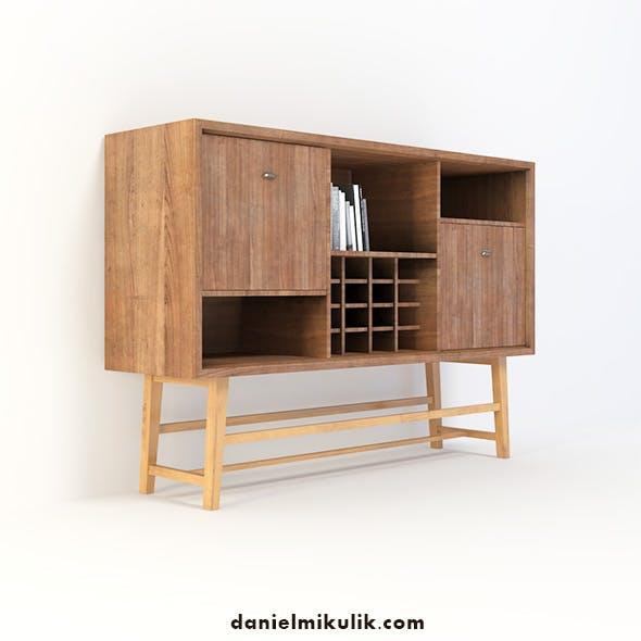 Retro Closet  #12 - 3DOcean Item for Sale