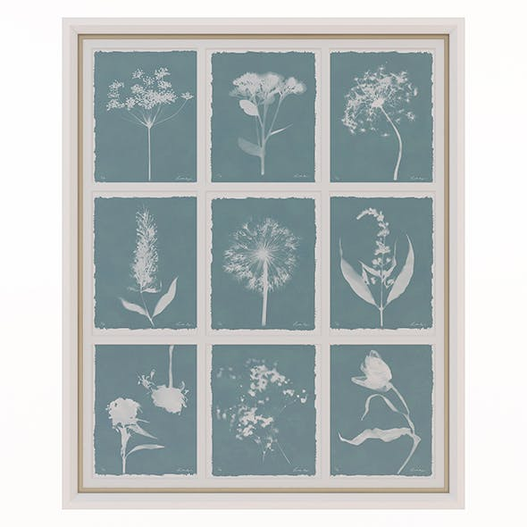 Charlotte Morgan Wild Meadow Flowers Nine Piece - 3DOcean Item for Sale