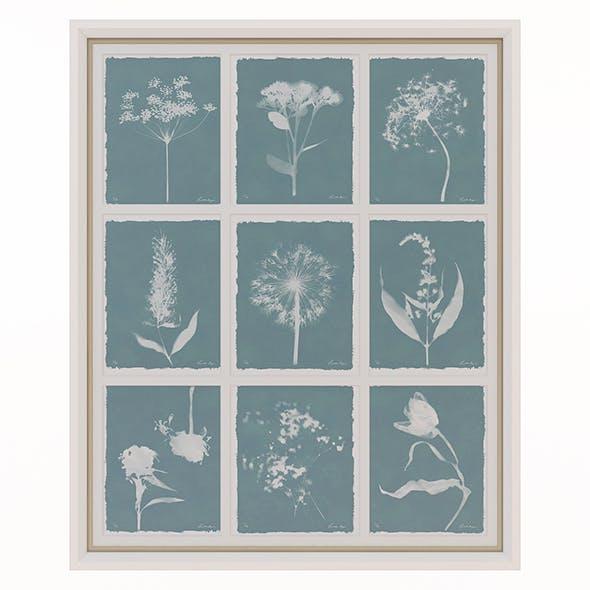 Charlotte Morgan Wild Meadow Flowers Nine Piece