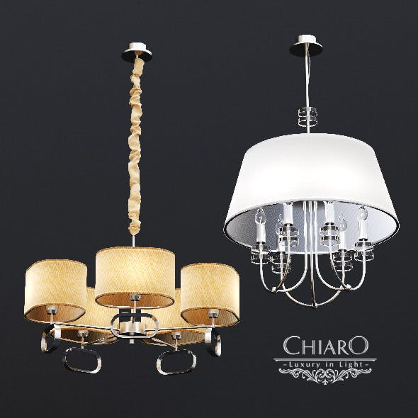 Chairo Palermo chandeliers - 3DOcean Item for Sale