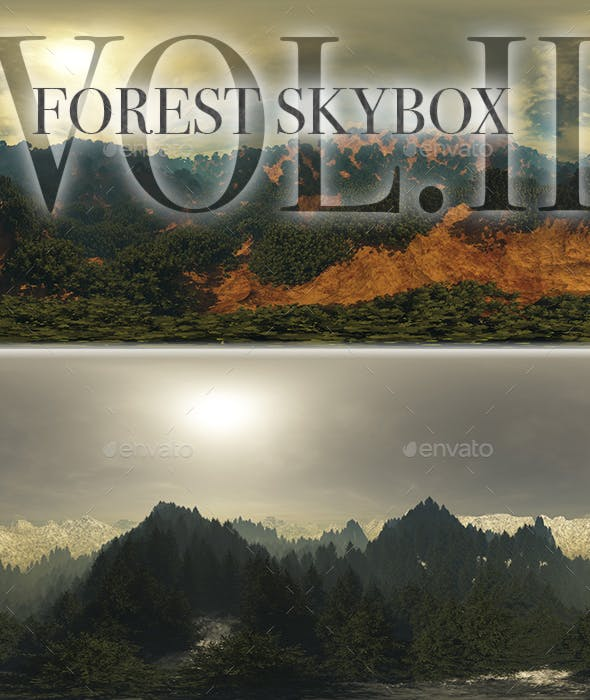 Forest Skybox Pack Vol II by 7030-Artwork | 3DOcean