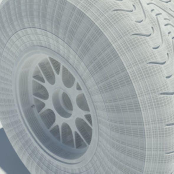 Pirelli intermediate tyre