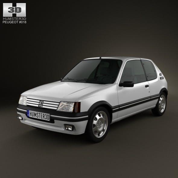 Peugeot 205 3-door GTI 1983-1998 - 3DOcean Item for Sale