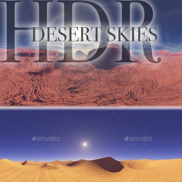 HDR Desert Skies