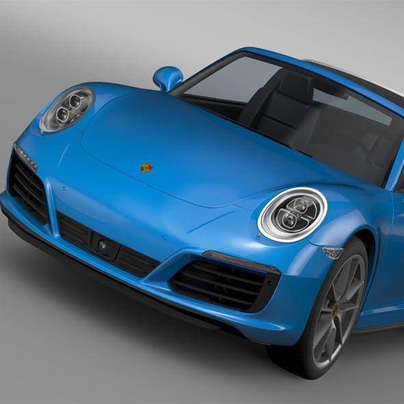 Porsche 911 Targa 4 991 2016