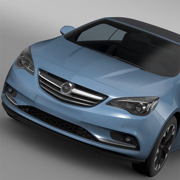 Opel Cascada Turbo 2016 - 3DOcean Item for Sale