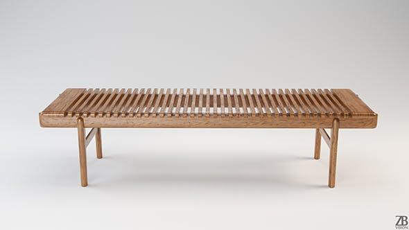 PP 589 Bar Bench - 3DOcean Item for Sale