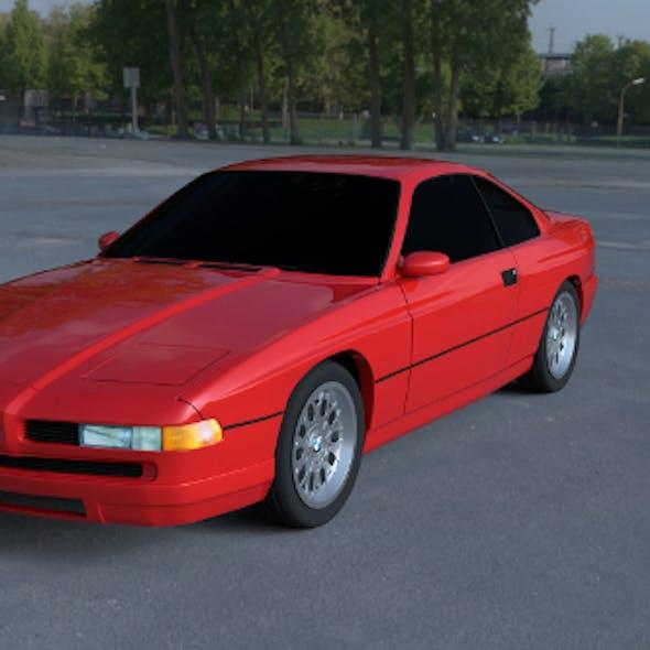BMW 8 Series E31 HDRI
